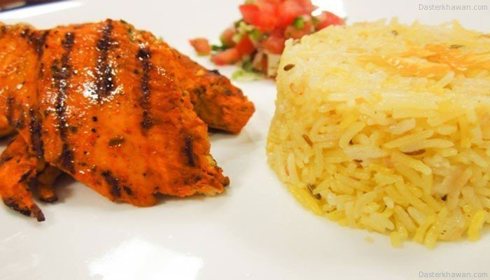 Recipe Of PERi-PERi Chicken with Rice like Nando's