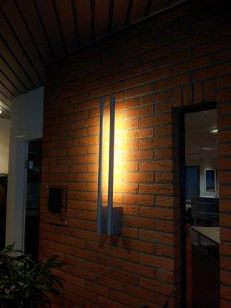 Buitenlamp modern LED verlichting