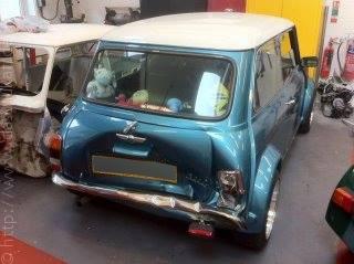 Rover-Mini-Heckunfallschaden
