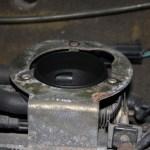 Rover Mini Xn - abgenommener Luftfilter