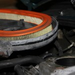 Rover Mini Xn - geöffneter Luftfilter