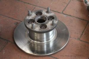 Rover Mini Xn - Bremsscheibenwechsel