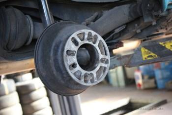 Rover Mini Xn - Spurverbreiterung hinten