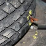 Rover Mini Xn - Reifenflickzeug einziehen 2