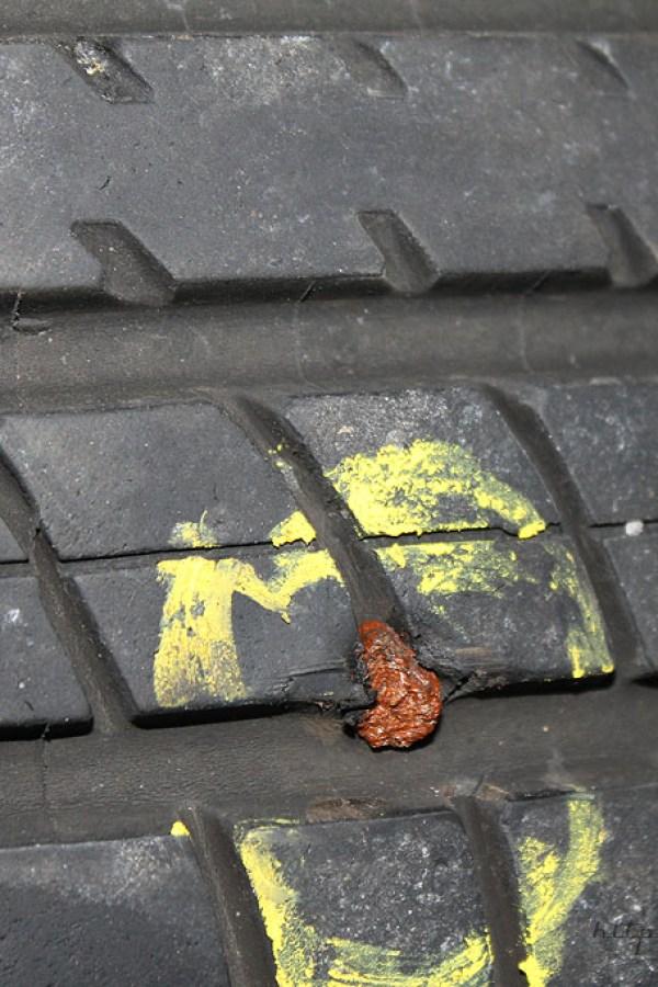 Rover Mini Xn - Reifenflickzeug einziehen 4