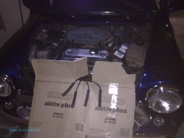 Rover Mini Xn - ohne Zündung Öldruck aufbauen