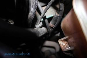 Rover Mini Xn Ausgleichsbehältermutter geköpft