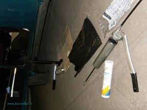 Rover Mini Xn - abschmieren Vorbereitung