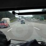 Mini s mit Anhang auf dem Weg gen Norden