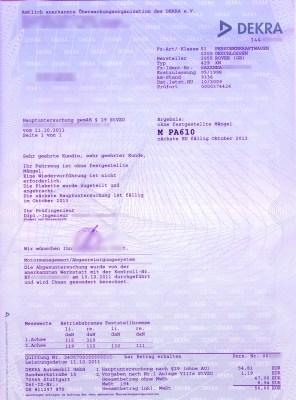 Rover Mini Xn - tuevbericht2011_10
