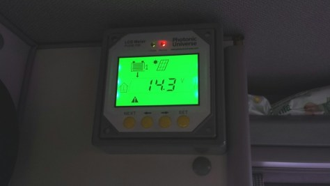 LCD Display Illuminated