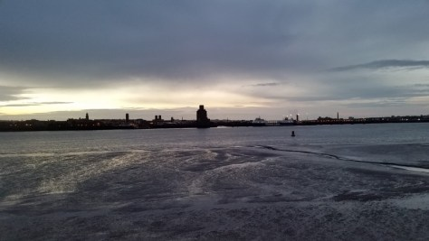 Mersey at low tide