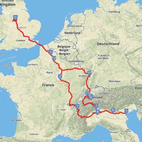 2018 Euro Trip