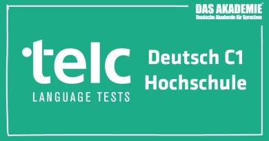 telc-Deutsch-C1-Hochschule