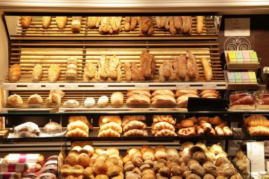 Almanya' da Unlu Mamuller ( Bäckerei ) Kültürü