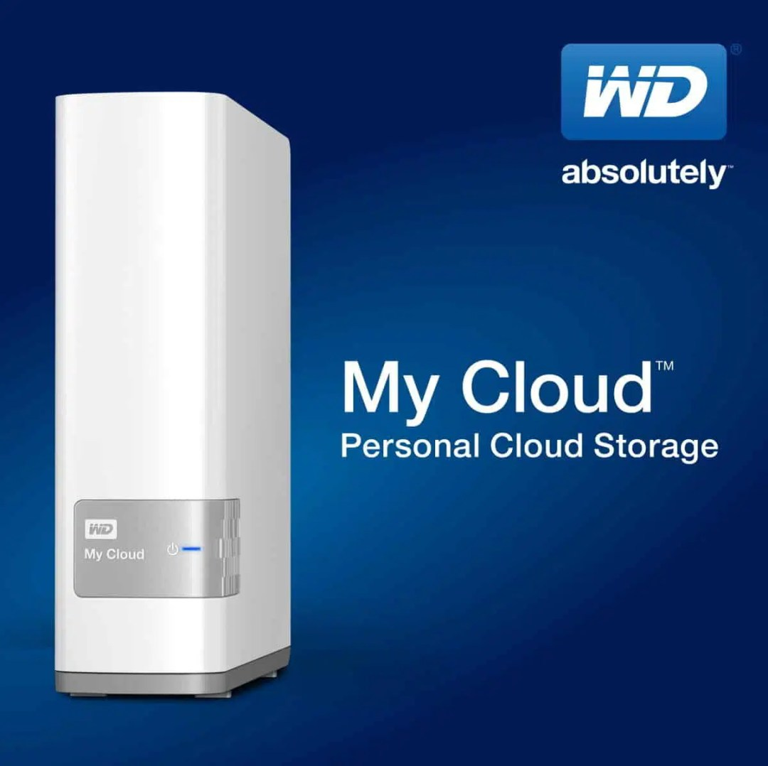 WD My Cloud Red Light