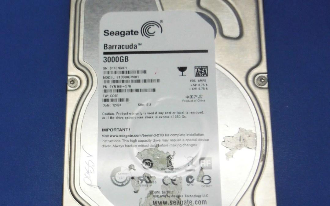 Seagate, Barracuda, 3Tb