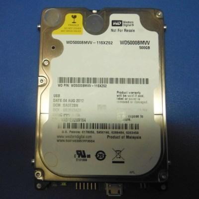 WD, Western Digital, 500 Gb, SAOT2BN