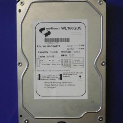 MEDIAMAX, WL160GSA872, WL160GBS
