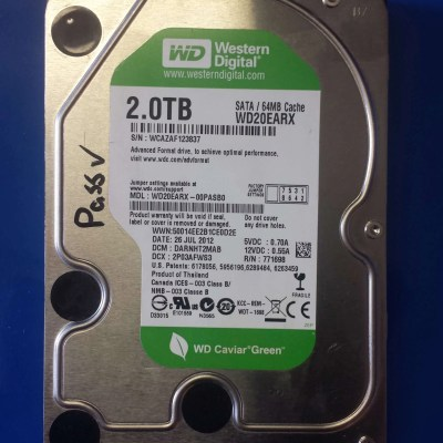 Caviar Green, Western Digital, 2TB