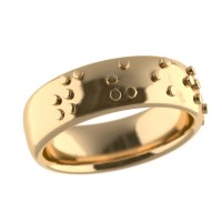 Personalised Jewellery | Braille Promise Ring