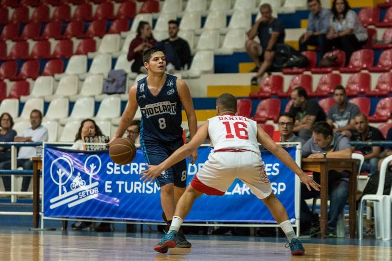 Luís Mendonça jogou o estadual Sub-19 pelo Rio Claro Basquete / Foto: Felippo Ferrari-Divulgação
