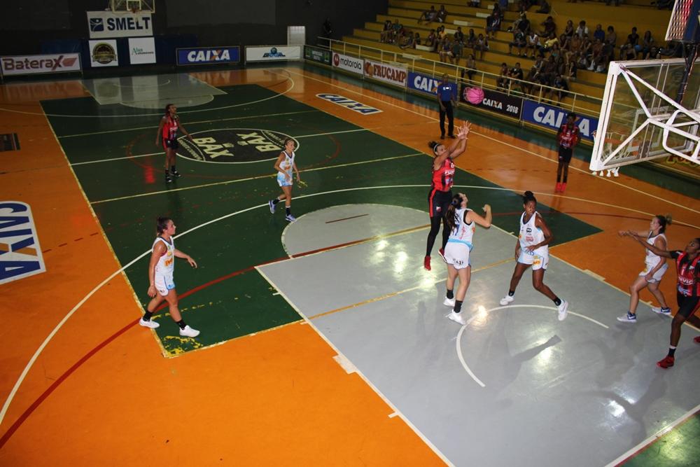 Kelly Santos fez 18 e a vitória enfim veio para o Funvic/Ituano / Foto: Márcio Costa-Poty Bax Catanduva