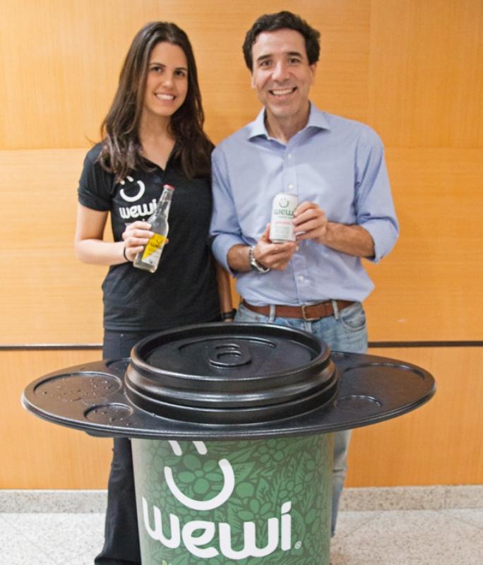 Wewi é o primeiro refrigerante orgânico do país / Fotos: Renato Oliveira-LNB