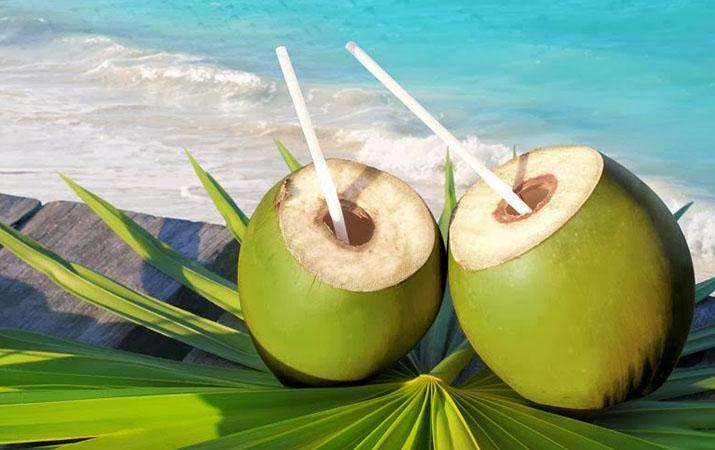 Manfaat daging kelapa muda