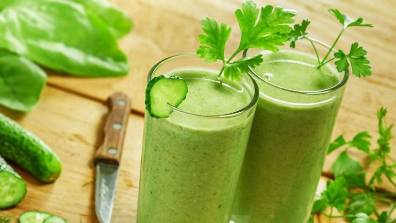 Jus Sayuran Hijau Untuk Diet