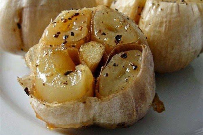 khasiat bawang putih bakar dan madu