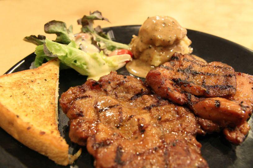 resep steak ayam mozarella