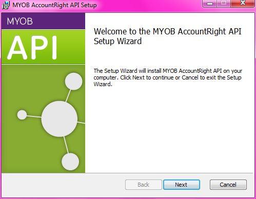 API Installer Setup2
