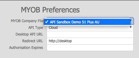 Cloud Select Company File