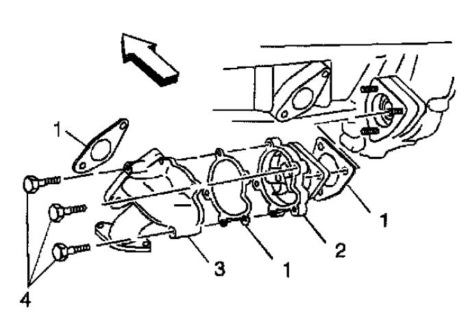 Chevrolet Cavalier L4-144 2.4L DOHC manual de la bomba de