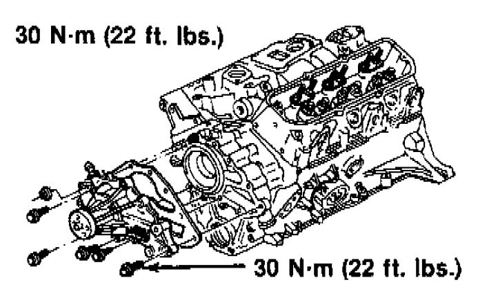 Chevrolet Truck S10 manual de la bomba de agua pdf
