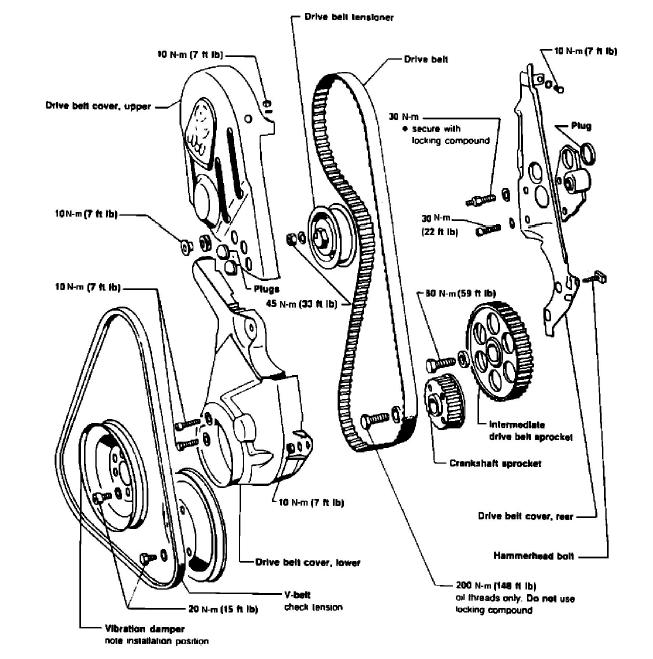 1990 Volkswagen Golf L4-1781cc 1.8L SOHC