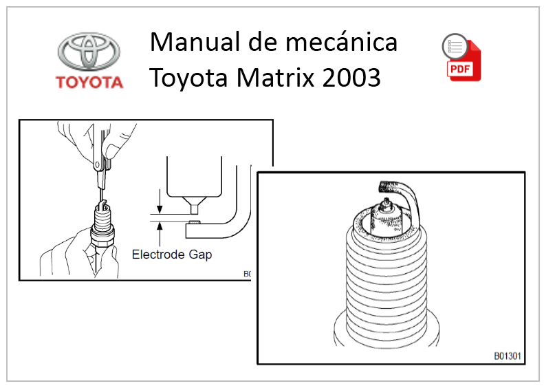 Manual de mecánica Toyota Matrix 2003 PDF-DataCar