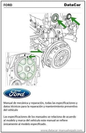 Ford Transit 2006-2011 2.2 TDCi Manual de mecánica PDF