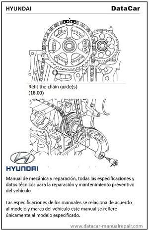 Hyundai Accent 2006-2009 1.6L Manual de mecánica PDF