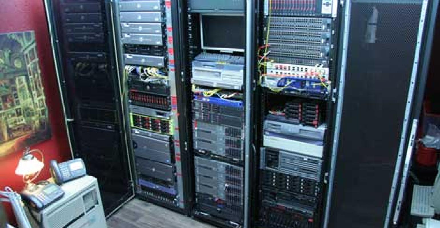 hight resolution of the home data center man cave for the internet age