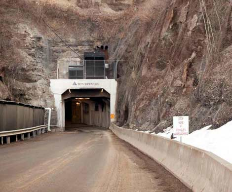 Iron Mountains Energy Efficient Bunker  Data Center