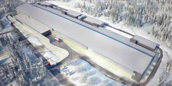 Facebook's data center in Sweden