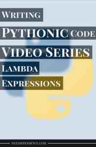 [Video Series] Taking Your Python Skills to the Next Level With Pythonic Code – Lambda Expressions