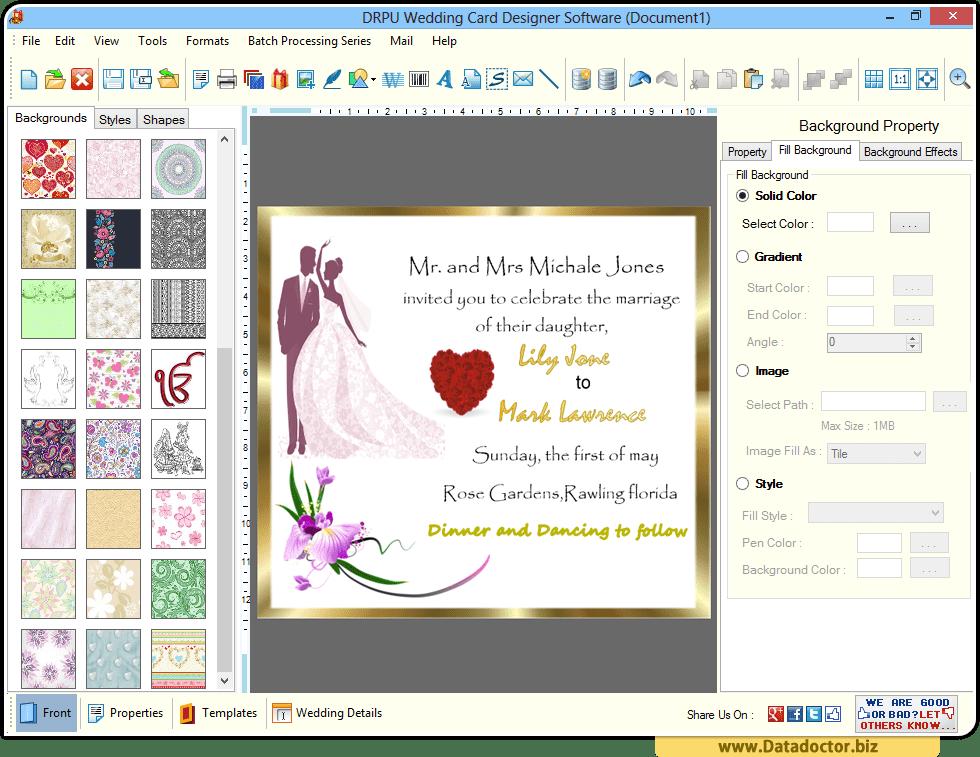 Create Marriage Invitation Online