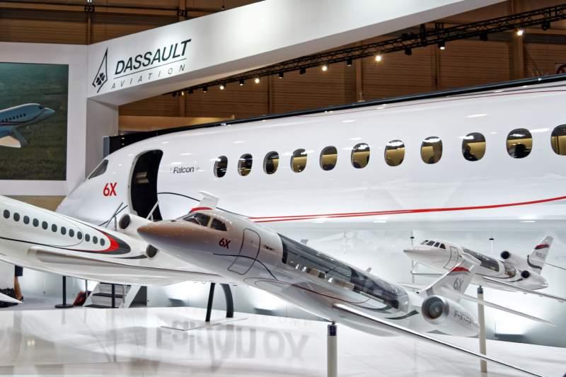 Le Dassault Falcon 6X se concrétise