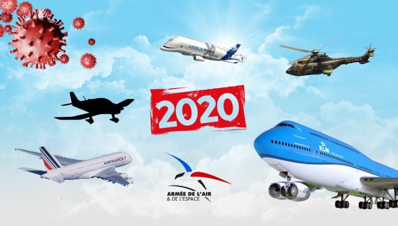 Aviation : Les événements marquants de l'année 2020