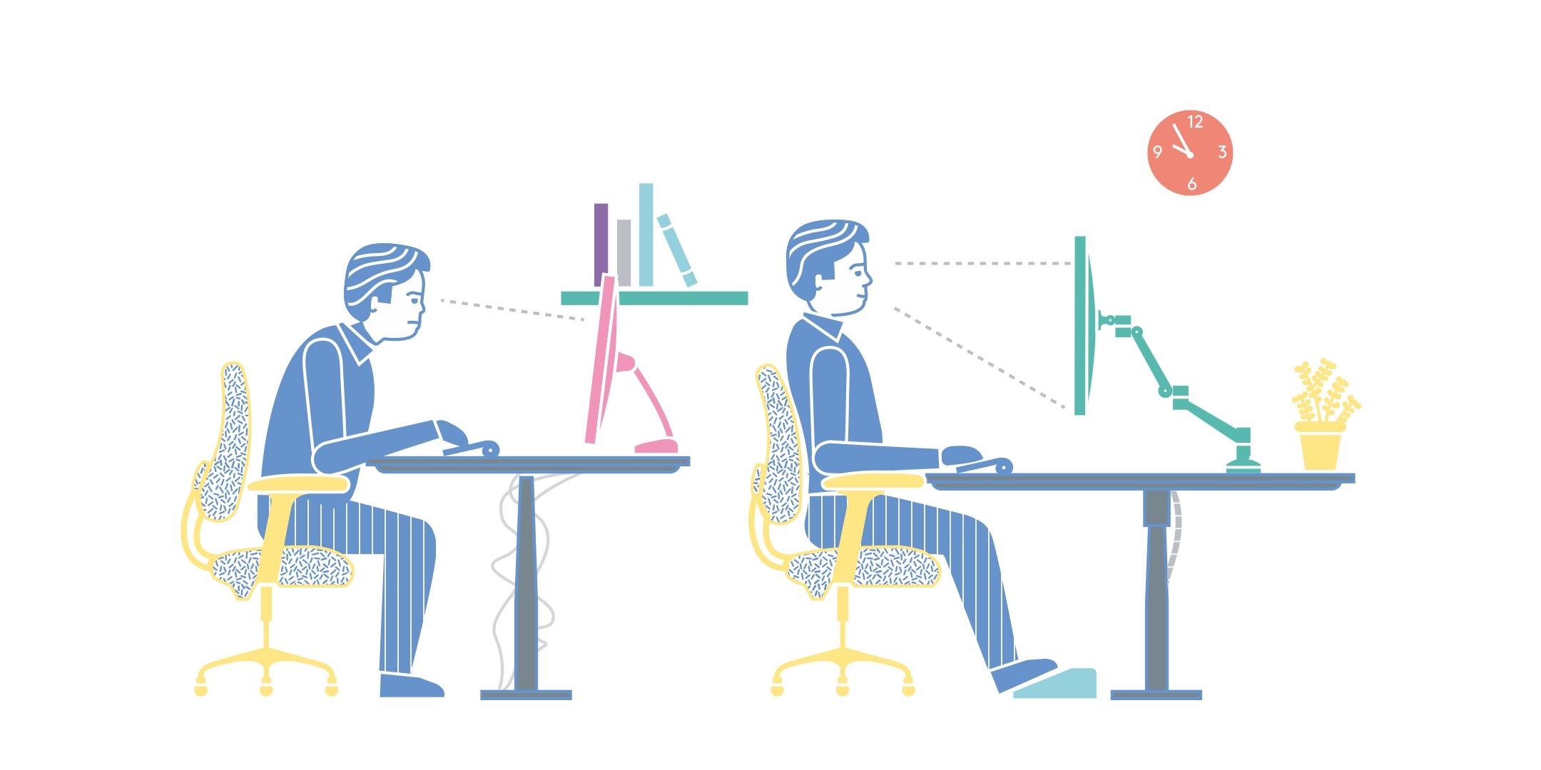 ergonomic chair criteria aviator restoration hardware ergonomics how to get yourself shipshape in dataflex