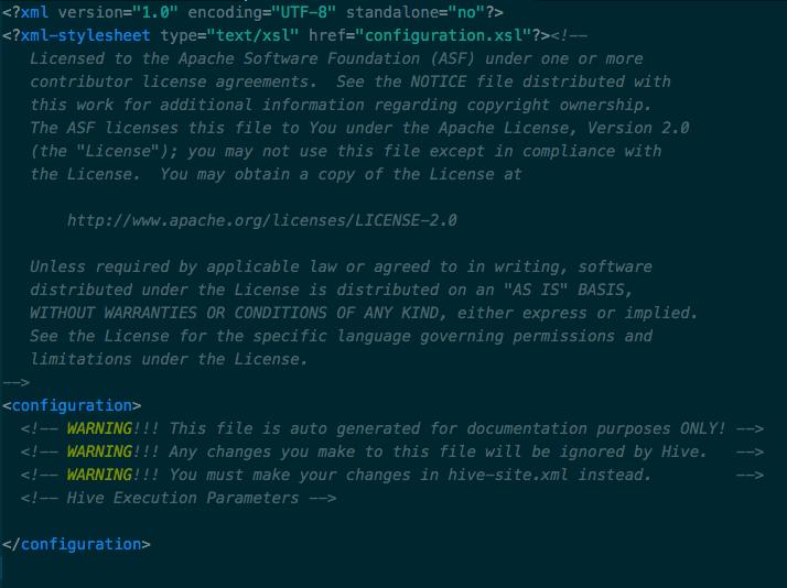 Installing Apache Hive on a Mac — Data Geek In Me