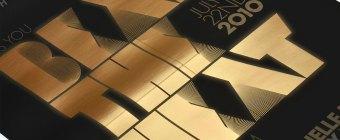 Hugo Boss Invitation - Foil Stamping